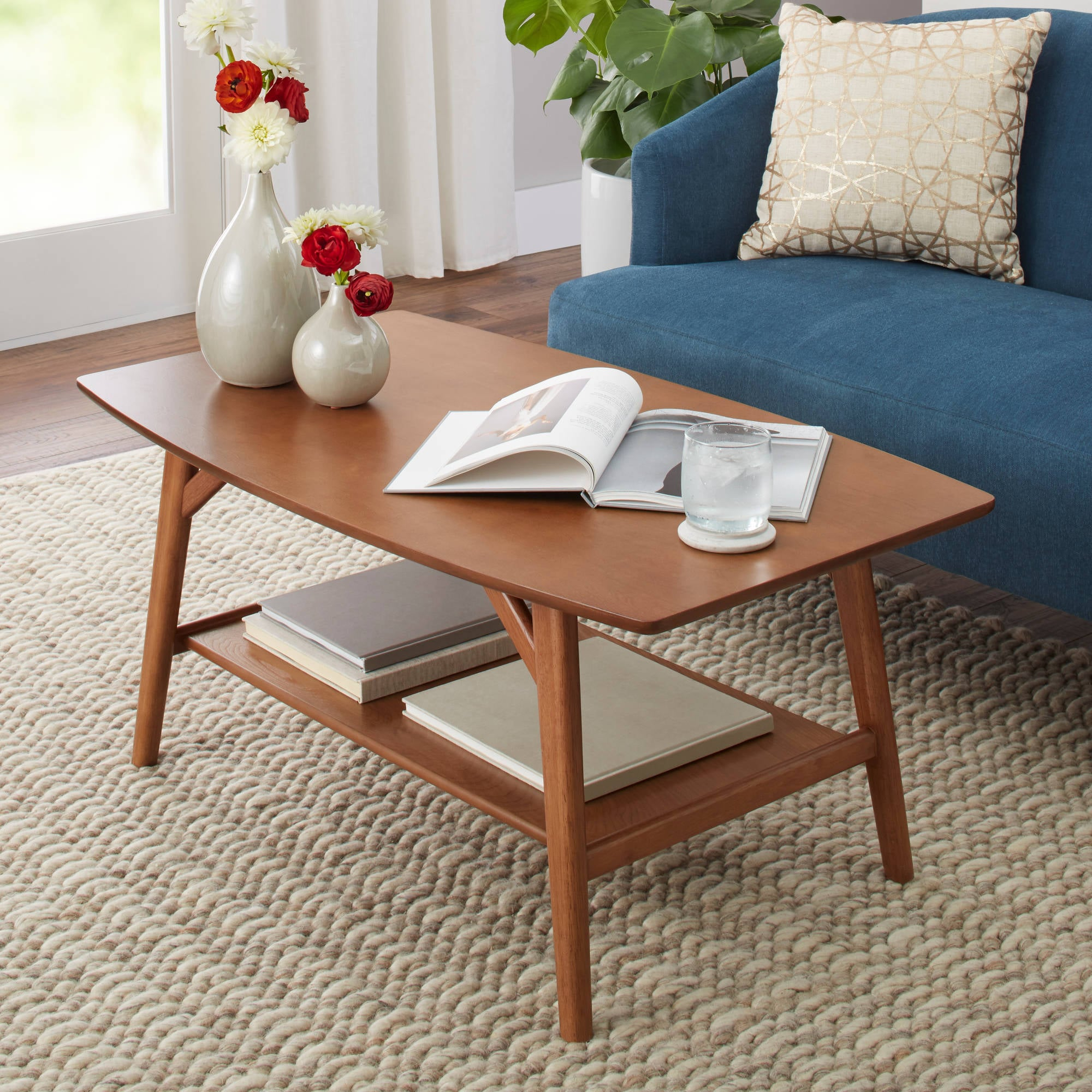 Image of: Better Homes Gardens Reed Mid Century Modern Coffee Table The 19 Most Stylish Coffee Tables Money Can Buy For Under 200 Popsugar Home Photo 20