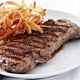 Entrée: Grilled Ribeye With Crispy Parsnips