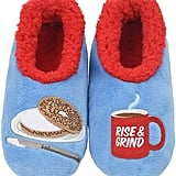 Snoozies Classic Splitz Applique Slipper Socks