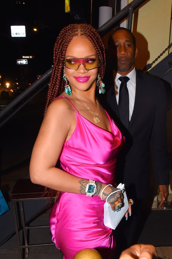 We've Got Love on the Brain, and It's For Rihanna's Bright Red Box Braids