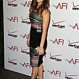 Jennifer Lawrence wore a colorful look at the AFI Awards.