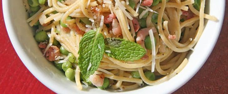 Guilt-Free Creamy Comfort: Healthier Spaghetti Carbonara