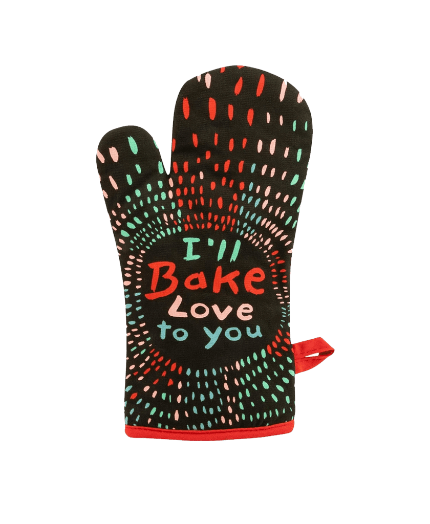 Blue Q I'll Bake Love to You Oven Mitt