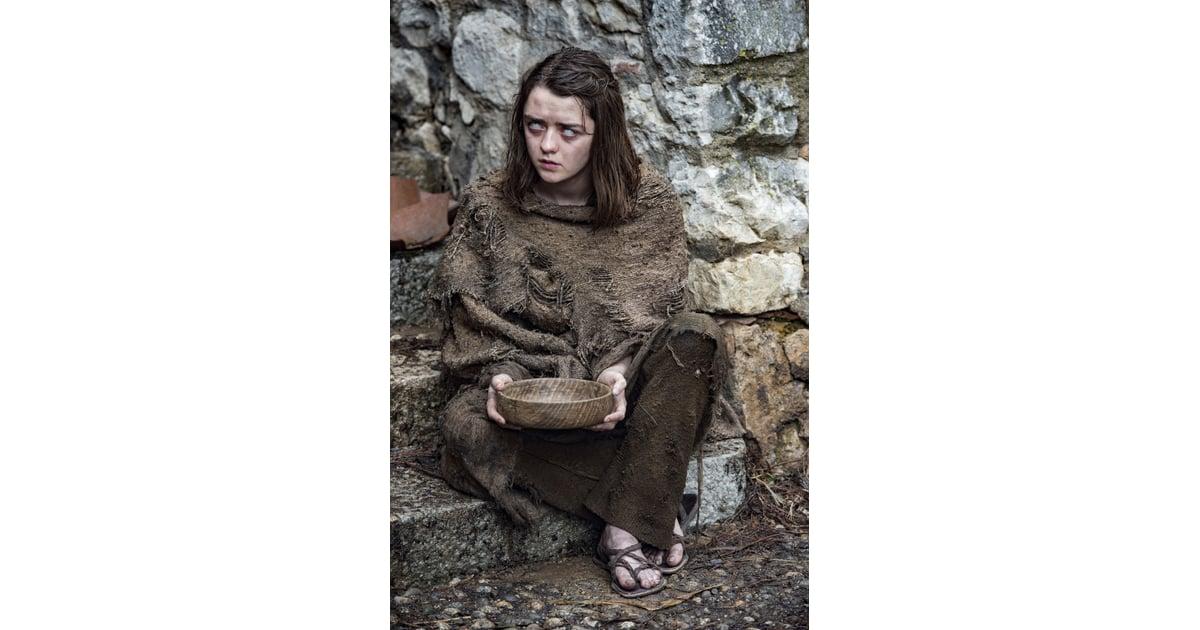 Arya Stark As A Blind Beggar Game Of Thrones House