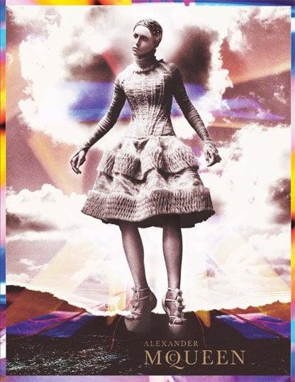 Alexander McQueen Fall 2011 Ad Campaign — Raquel Zimmermann
