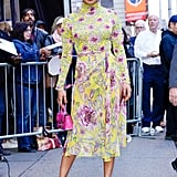 Priyanka Chopra's Floral Outfit on Good Morning America