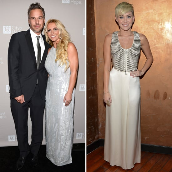 Britney Spears and Jason Trawick Honor a Friend With Miley Cyrus