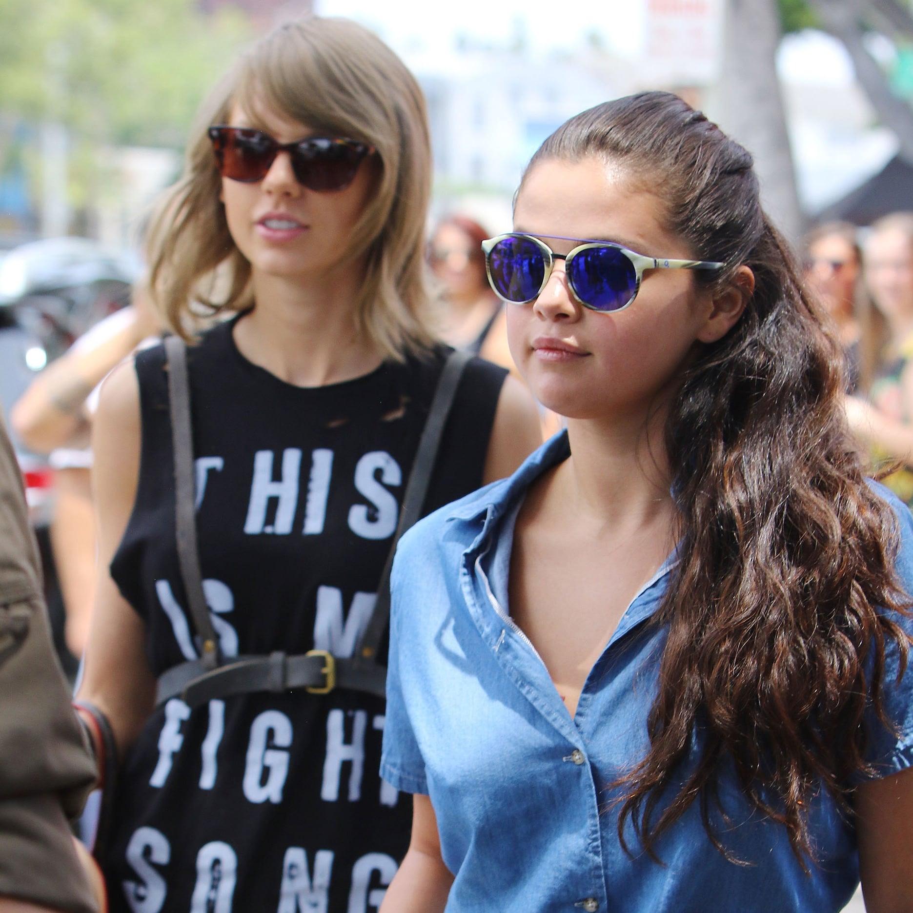 Taylor Swift and Selena Gomez at Lunch in LA June 2015 | POPSUGAR Celebrity  sc 1 st  PopSugar & Taylor Swift and Selena Gomez at Lunch in LA June 2015 | POPSUGAR ... Aboutintivar.Com