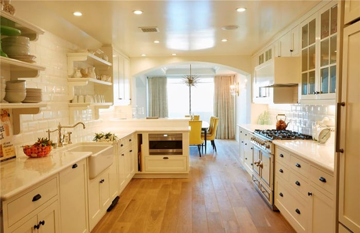 No expense was spared in the gourmet kitchen. | Lauren Conrad Is ...