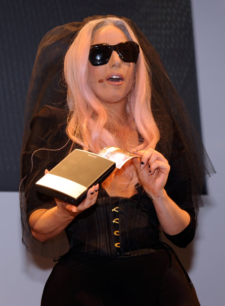Lady Gaga Gets Geeky