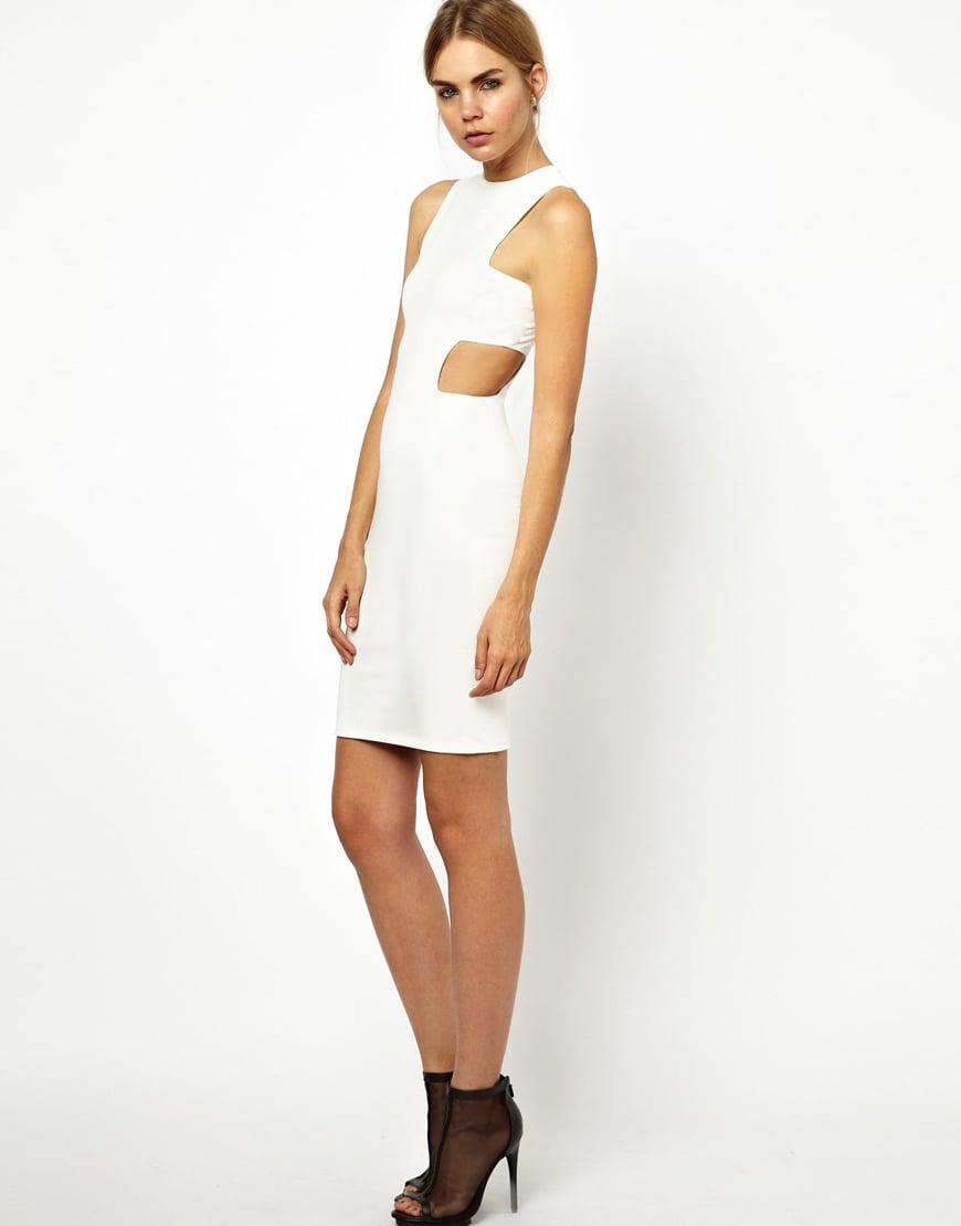 Solace London Cutout Mini Dress