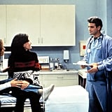 George Clooney and Noah Wyle as Dr. Michael Mitchell and Dr. Jeffrey Rosen