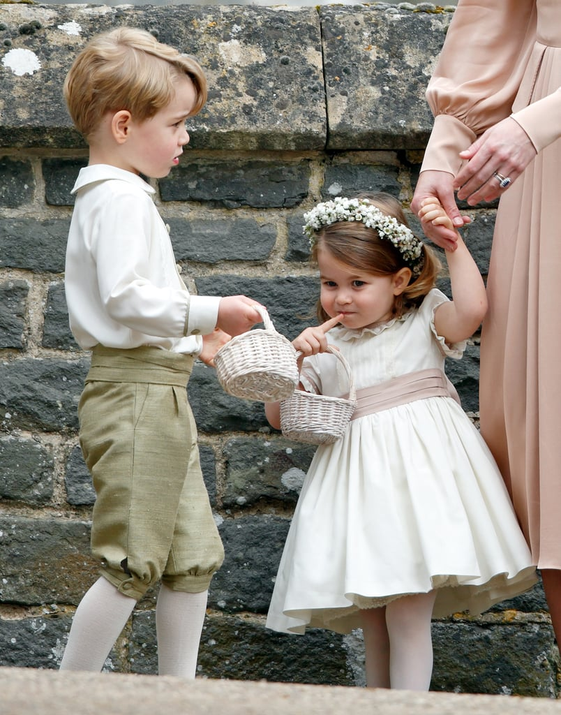The royal siblings couldn't have been cuter in their wedding finest at Pippa Middleton and James Matthews's nuptials in May.