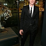 Andrew Garfield at the Museum of Natural History gala.