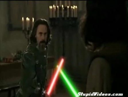 If the Princess Bride Had Light Sabers