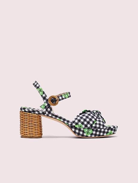 Hayden Knot Platform Sandals