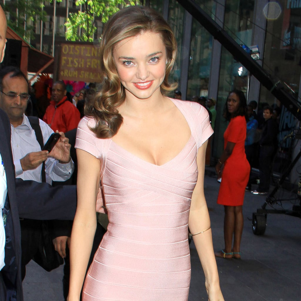 Miranda Kerr Cap Sleeve Dresses Pictures Popsugar Fashion
