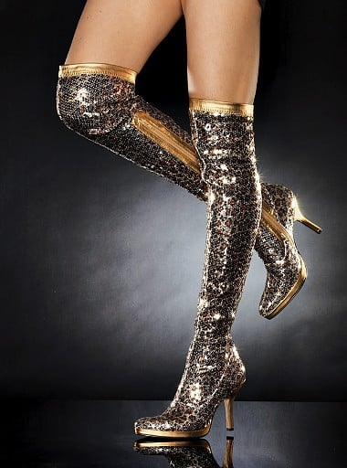 Victoria's Secret Sequin Over-the-Knee Stretch Boot: Love It or Hate It?