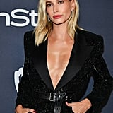Hailey Baldwin at the 2020 Golden Globes Afterparty