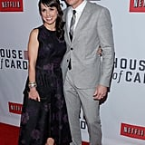 Constance Zimmer worked the red carpet.