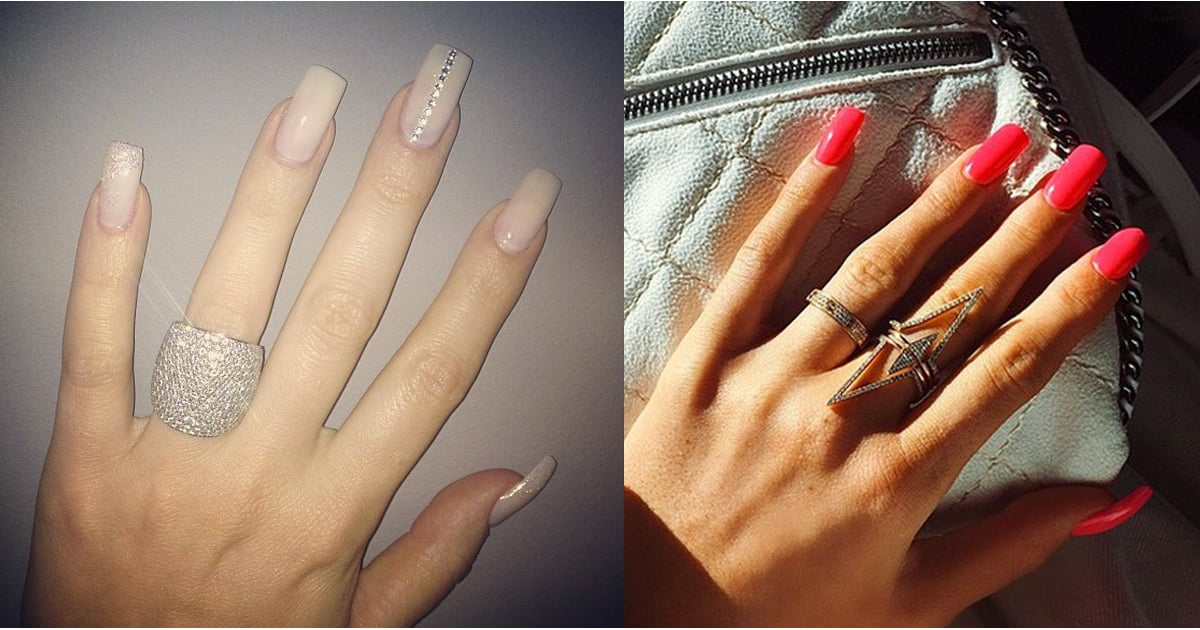 Kardashian Nail Art | POPSUGAR Beauty