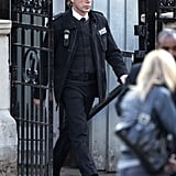 Javier Bardem filmed Skyfall in London.