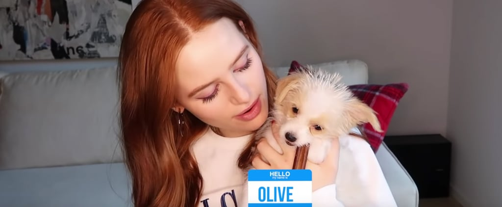 Meet Madelaine Petsch's New Puppy, Olive
