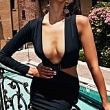 d4fe3cf0c8f ... Black Cut Out Trim Detail Asymmetric Bodycon Dress · Pink Tropical  Satin Blazer Dress · Nude Strawberry Print Frill Wrap-Over Tea ...
