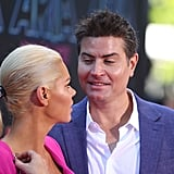 Sophie Monk and Stu Laundy at The ARIAs 2017