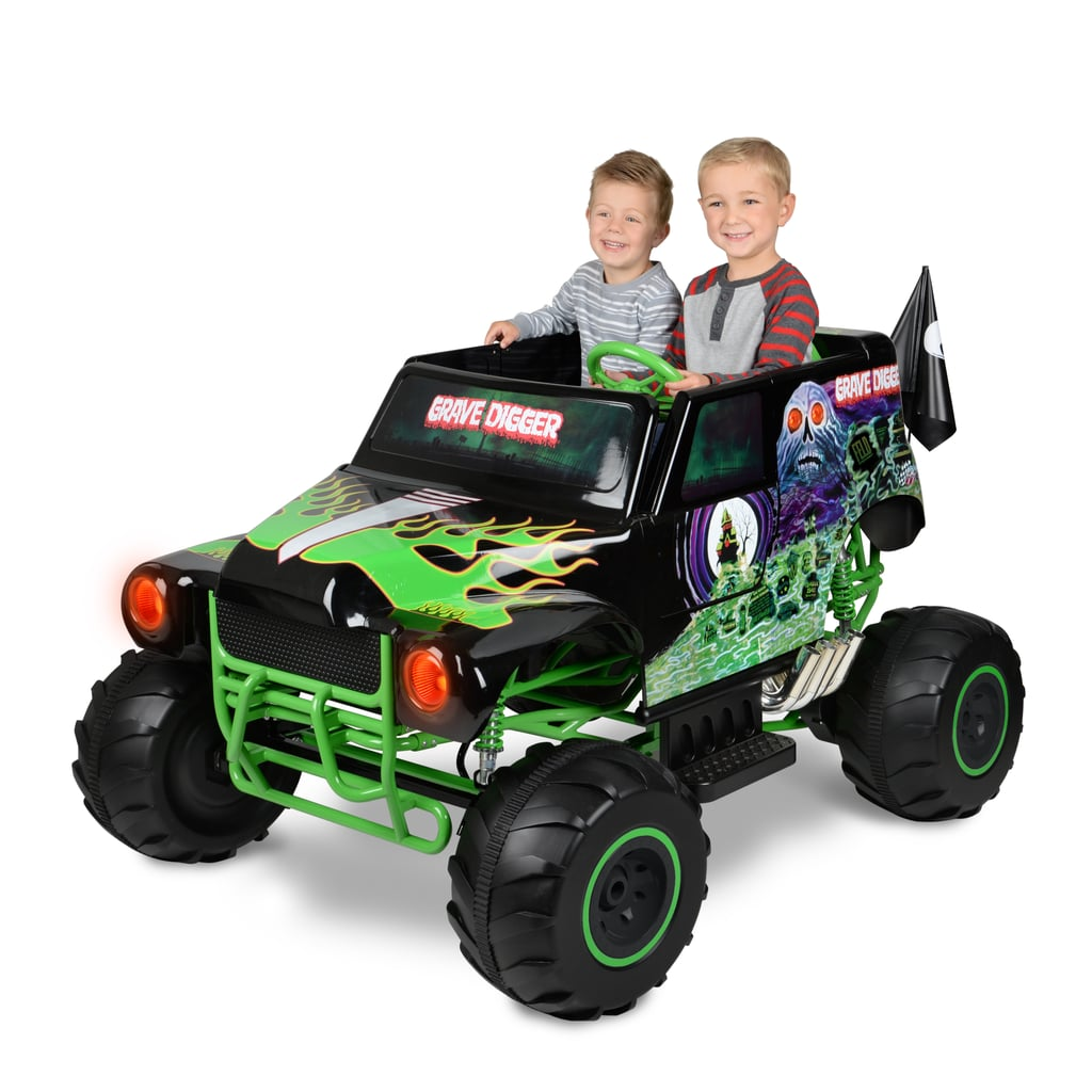 Buy Monster Jam Grave Digger Volt Battery Powered Ride-On at forexnetwork.tk