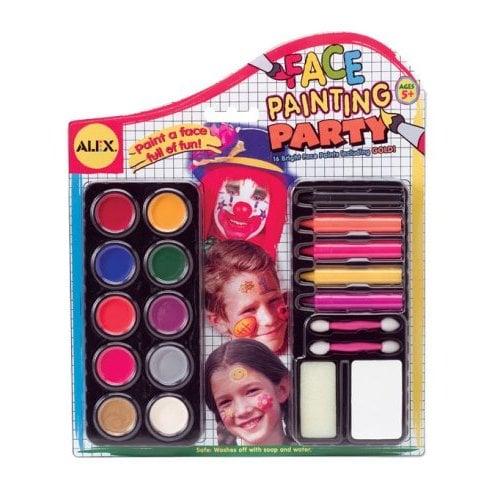 Alex Face Paint Party