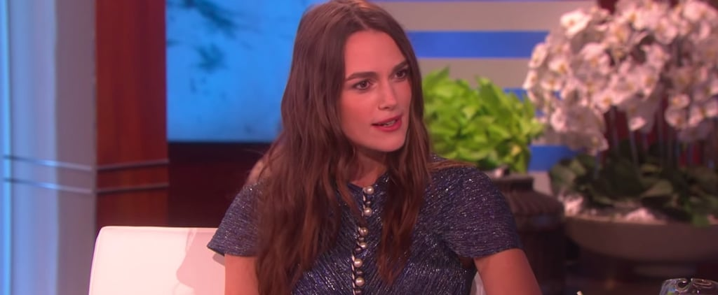 Keira Knightley Talking About Disney Movies on Ellen 2018