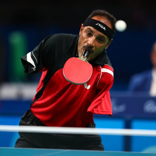 Paralympic Table Tennis Player Who Uses His Mouth to Play