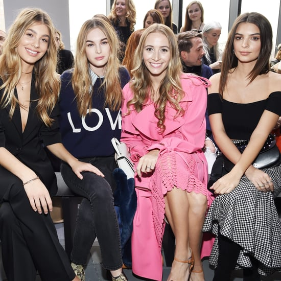 Celebrity Front Row Beauty Looks Fashion Month 2017
