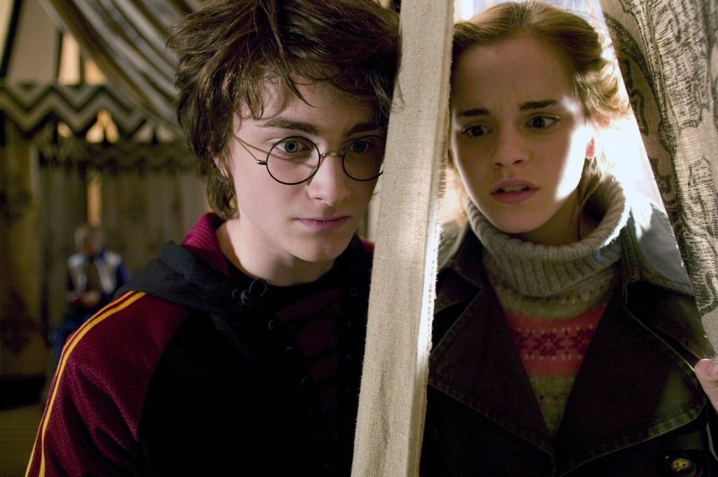When Hermione was always worried about Harry's safety.
