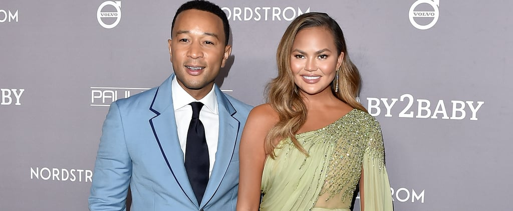 Chrissy Teigen's Green Dress at the 2019 Baby2Baby Gala