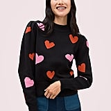 Hearts Mockneck Sweater
