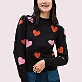 Hearts Mockneck Sweater