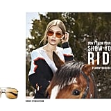 حملة Gigi Hadid for Vogue Eyewear يونيو 2017