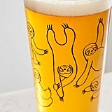 Sloth Pint Glass
