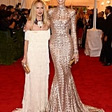 Rachel Zoe and Karolina Kurkova posed together on the red carpet.