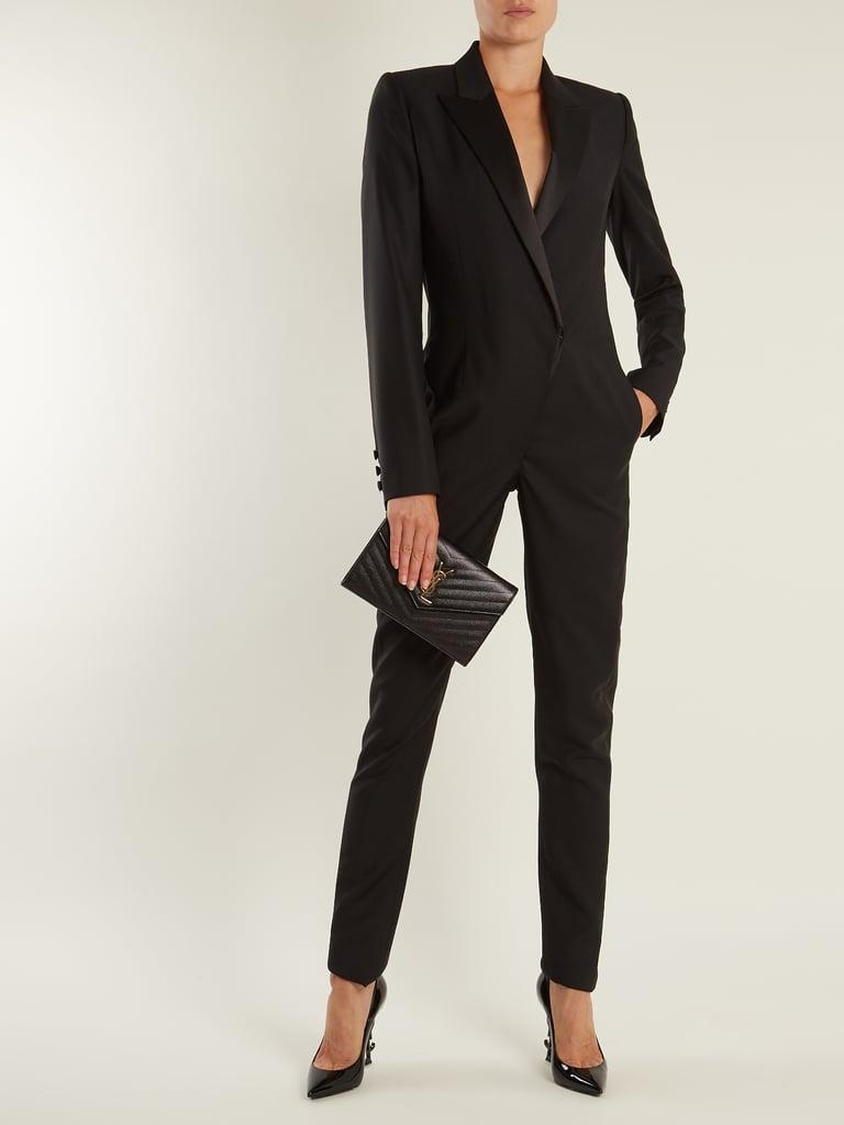 fed5523dfef Saint Laurent Tuxedo Jumpsuit