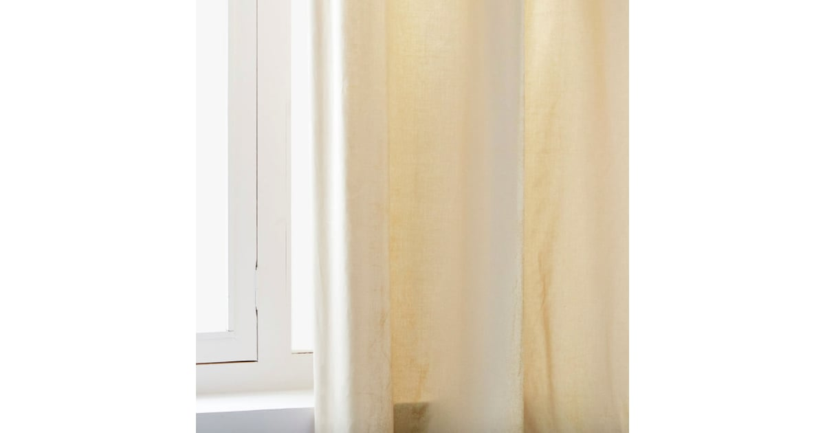 Zara Home Shimmery Velvet Curtain