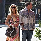 Paris Hilton Shows Her Affection For Cy Waits With Kisses, Hugs, and Cameras!