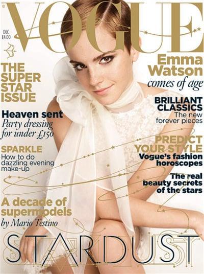 Emma Watson covers Vogue UK-december 2010