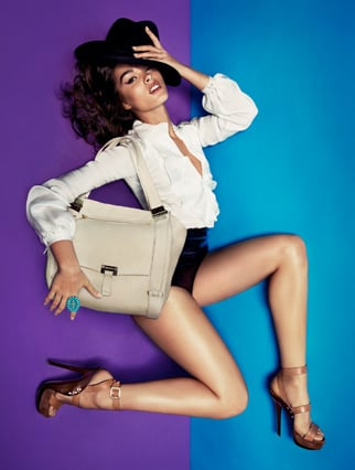 Crystal Renn's Jimmy Choo Ads Aren't Really About the Shoes or Bags at All