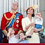 Prince George, Princess Charlotte, and Prince Louis