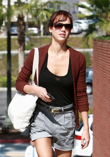 Jessica Alba out shopping