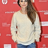 Keri Russell walked the red carpet at the premiere of Austenland on Friday at Sundance.