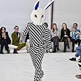 Francesco Risso on the Marni Fall 2020 Runway at Milan Fashion Week